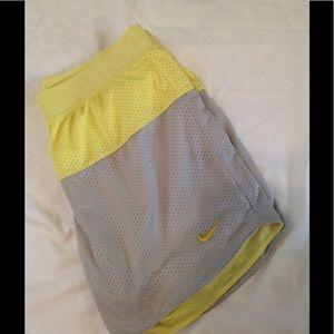Women's size Small NIKE running shorts